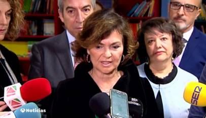 """Calvo dice que los independentistas catalanes tienen la """"responsabilidad"""" de que España tenga gobierno"""