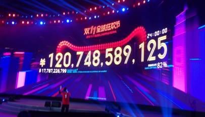 Alibaba bate récords en el 'Día del Soltero'