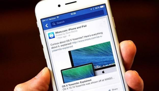 Facebook alerta de un 'bug' que activa sin permiso la cámara en el iPhone