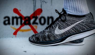 Nike deja de vender en Amazon