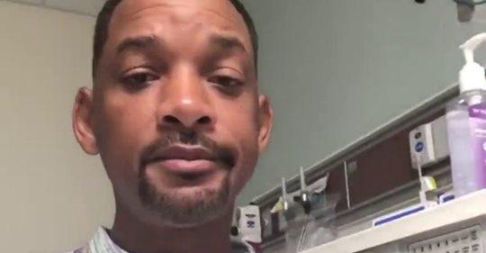 Will Smith se somete a una colonoscopia y anima a sus seguidores a hacerse una
