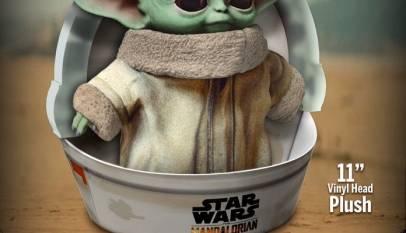 Ya tardaba... Sale a la venta 'The child', el muñeco inspirado en Baby Yoda