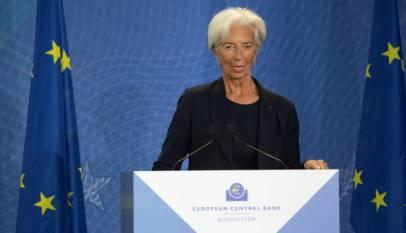 El BCE mantiene sin cambios los tipos de interés en su primera reunión presidida por Lagarde