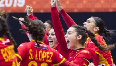 La selección femenina de balonmano hace historia