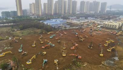 Ya han comenzado las obras en China para construir un hospital en 10 días