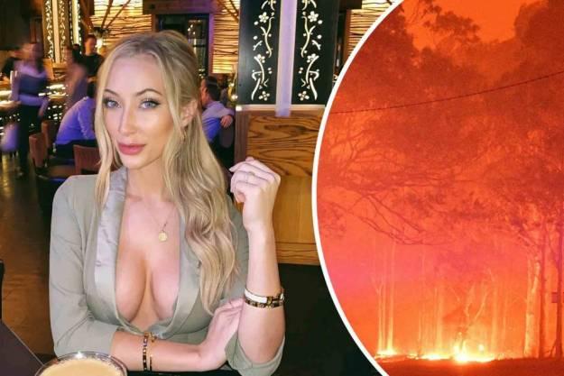 Una modelo recauda 700.000$ ofreciendo fotos de desnudos a cambio de donaciones para ayudar a Australia 1