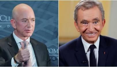 Jeff Bezos pierde el título de hombre más rico del mundo que ahora es de un europeo