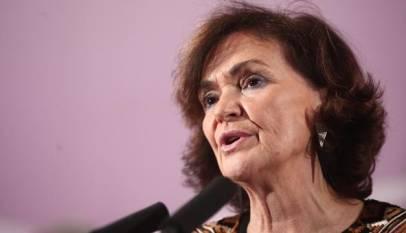 """Carmen Calvo, ante las recomendaciones de la RAE: """"No está en manos de nadie parar el avance del lenguaje inclusivo"""""""