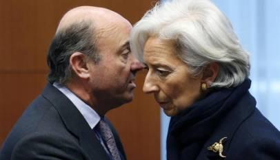 Lo que Luis de Guindos le enseño a Christine Lagarde te sorprenderá, más que el Euribor de hoy