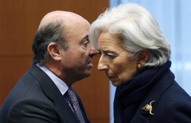 Lo que Luis de Guindos le enseño a Christine Lagarde te sorprenderá, más que el Euribor de hoy 1