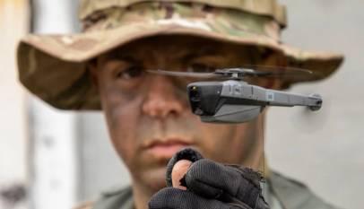 Estos drones militares del tamaño de un insecto dan mucho miedo
