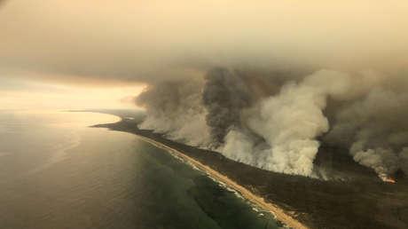 El humo de los incendios de Australia podría dar la vuelta al mundo 1