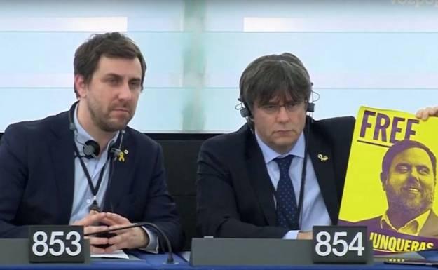 Puigdemont no descarta volver a España a visitar a los presos 1