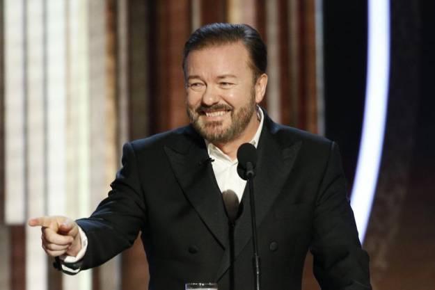 Estos son los dos chistes censurados a Ricky Gervais en los Globos de Oro 1