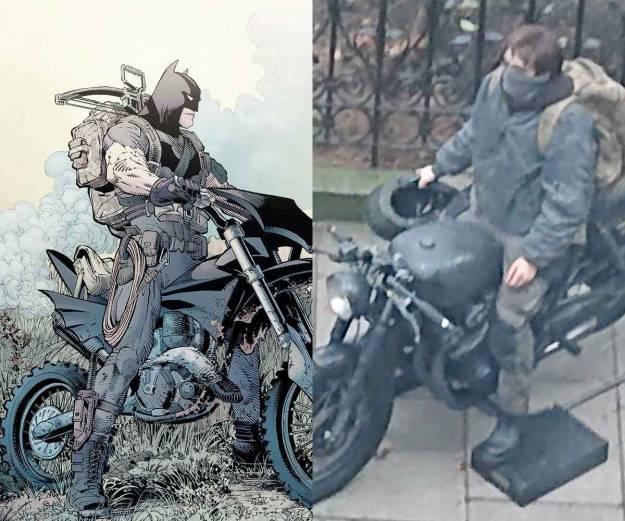 Filtrada la primera imagen de Robert Pattinson en The Batman 1