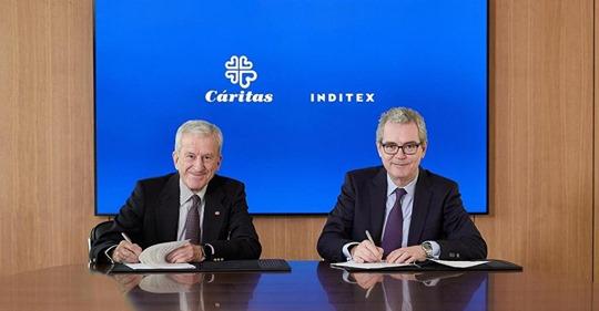 Inditex aporta 8,5 millones de euros a Cáritas para apoyar programas de empleo social 1