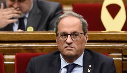 La Mesa del Parlament asume que Torra ya no es diputado