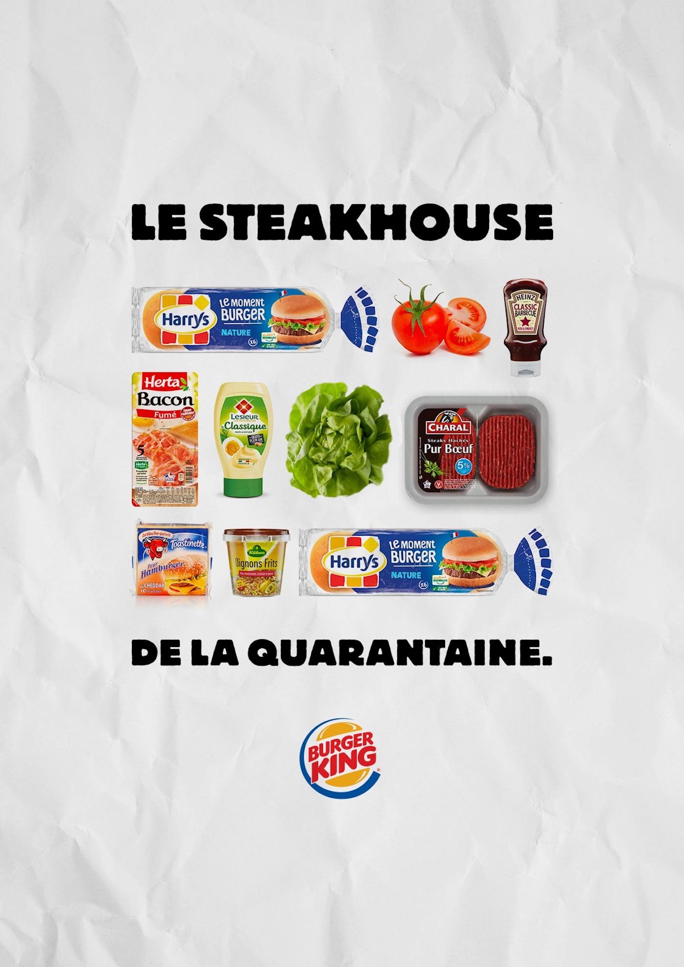 Burger King publica las recetas de sus hamburguesas para replicarlas durante la cuarentena 2