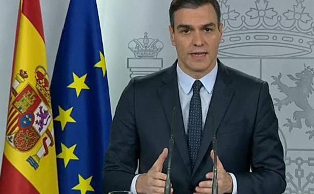 Sánchez convoca hoy un Consejo de Ministros extraordinario para declarar el estado de alarma 1