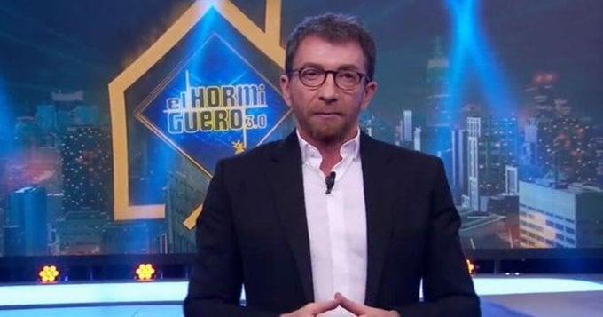 Pablo Motos carga duramente contra Pedro Sánchez y los políticos 1