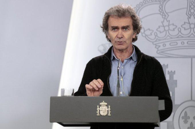 """Fernando Simón: """"La epidemia va incluso mejor de lo que pensábamos"""" 1"""
