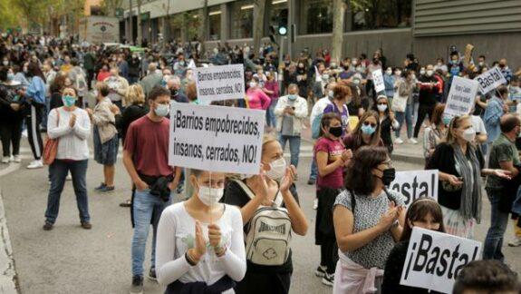 """Serra (Podemos) tacha de """"segregación clasista"""" las nuevas restricciones contra el Covid 1"""