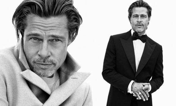 El regreso de Brad Pitt como modelo para una marca italiana causa sensación 1