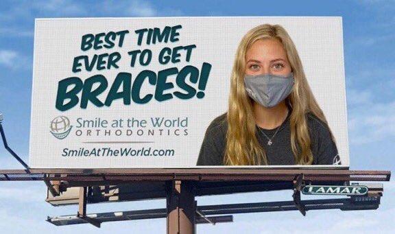 Genial anuncio de una clínica dental 1