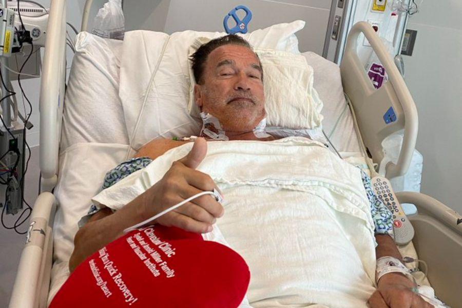Operan de nuevo del corazón a Arnold Schwarzenegger 1