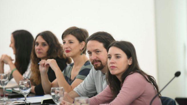 Podemos decide que solo intervengan mujeres en la moción de censura y al final lo hace Pablo Iglesias 1