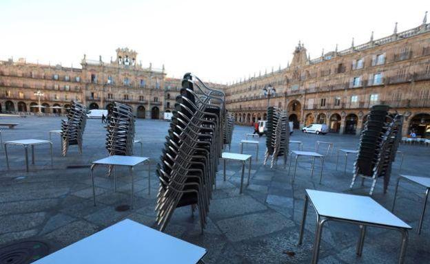 Castilla y León cierra la hostelería, los centros comerciales y los deportivos 1