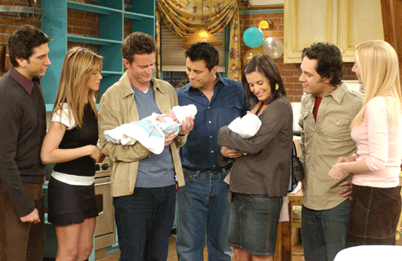 Matthew Perry confirma cuando se reencontrará Friends 1