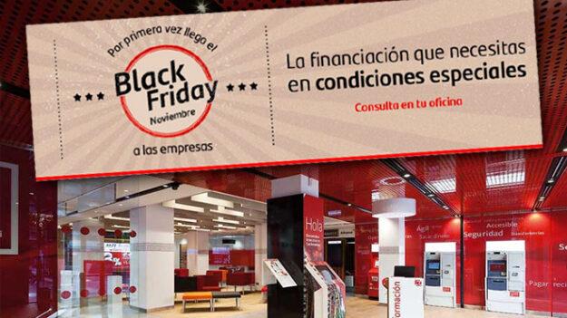"""El """"Black Friday"""" llega también al Banco de Santander 1"""