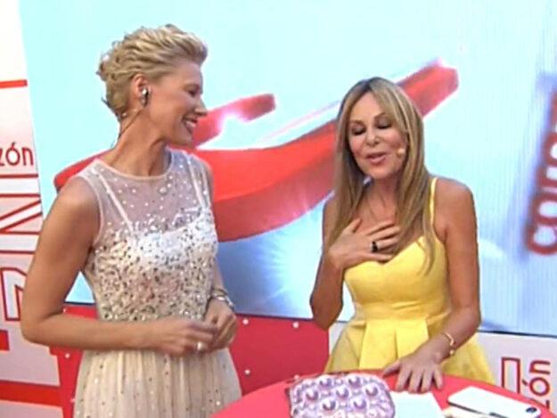 Ana Obregón acompañará a Anne Igartiburu en las campanadas de RTVE 1