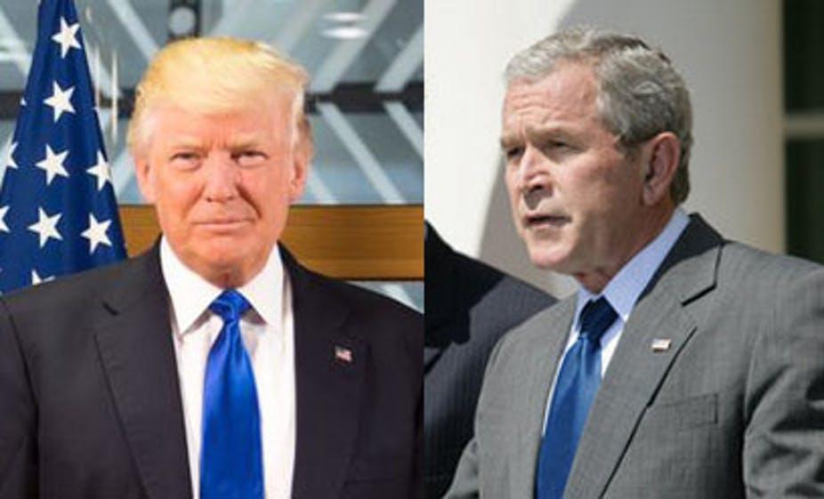 El expresidente estadounidense Bush felicita a Biden y le pide que una a EEUU 1