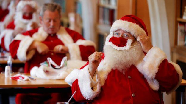 """La OMS confirma que Papá Noel es """"inmune"""" al COVID-19 y podrá entregar los regalos 1"""