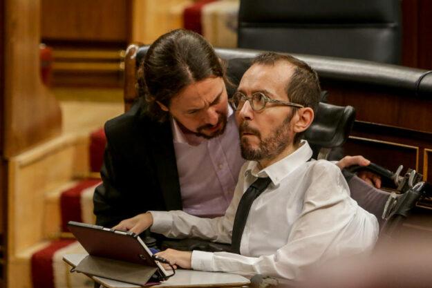 Echenique dice que la investigación por financiación irregular a Podemos es peligrosa en democracia 1