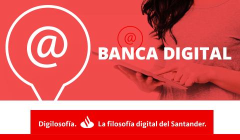 El Banco Santander estrena web 1