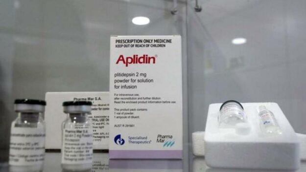 Un fármaco de Pharmamar elimina casi al 100% la carga viral del covid-19 1