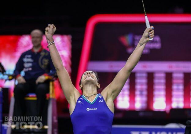 Carolina Marín gana a la Número 1 del mundo y conquista su segundo título en Tailandia 1