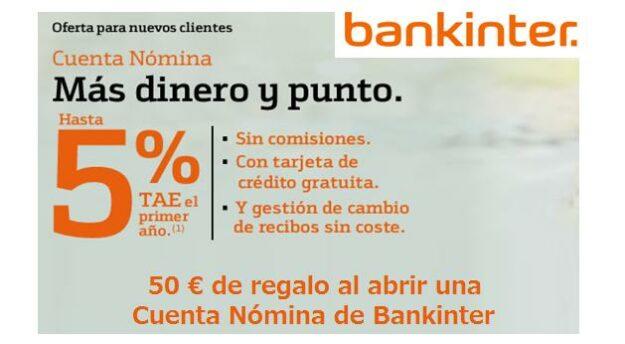 Si eres cliente de Bankinter puedes ganar hasta 400€ 1
