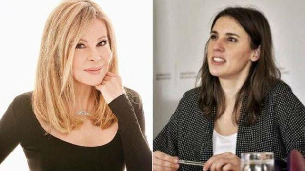 Ana Obregón dice que a Irene Montero «las neuronas le van despacio con tanto lío» 1