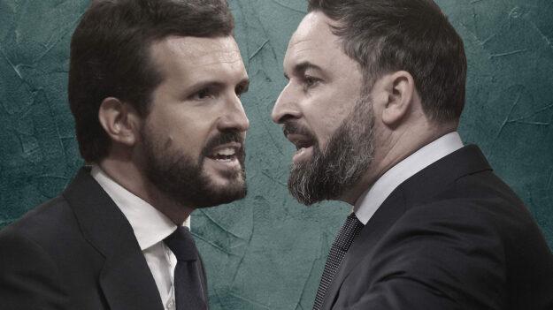 Abascal avisa a Casado: habrá 'sorpasso' de Vox al PP en toda España 1