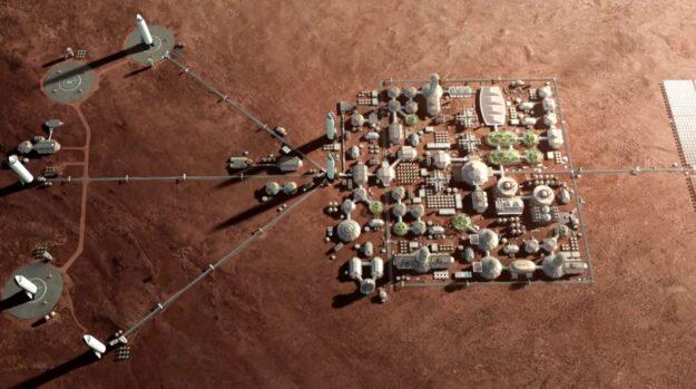 El atasco de Marte y su moneda 1