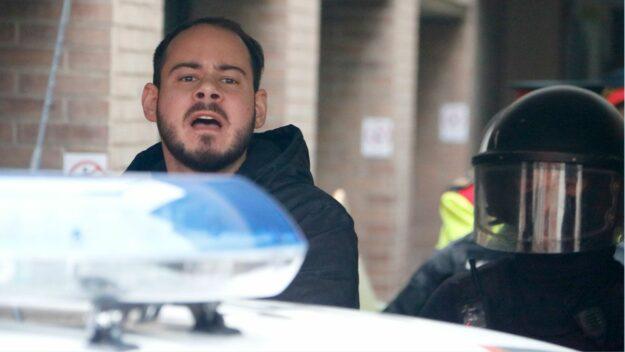 Hasel exige una celda privada y se niega a colaborar en las tareas de prisión por ser «preso político antifascista» 1