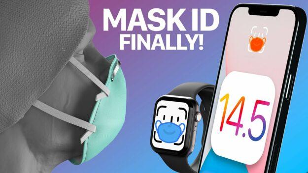 ¡Por fin! Los iPhone se podrán desbloquear con la mascarilla puesta 1
