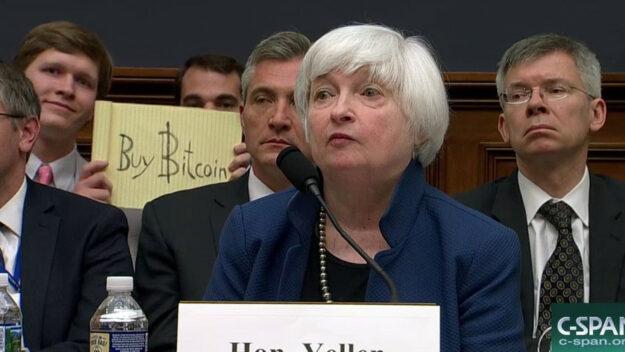 """Yellen carga contra el bitcoin y lo ve """"extremadamente ineficiente"""" 1"""
