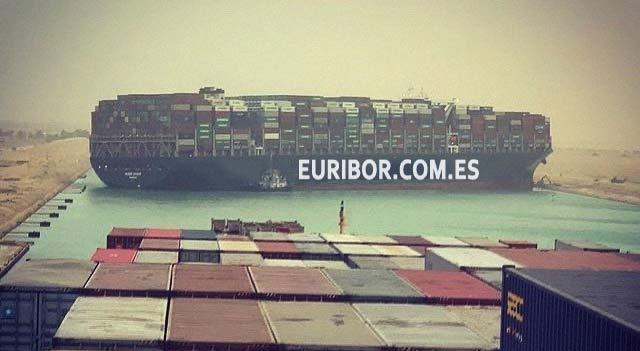El Euribor sube y el canal de Suez 1
