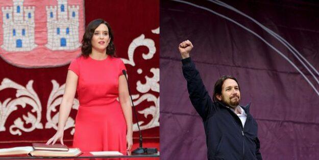 """Ayuso dice que España le debe una porque ha sacado """"a Pablo Iglesias de La Moncloa"""" 1"""