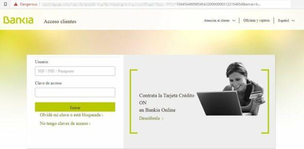 Ojo si te llega este email de Bankia o ING, elimínalo urgentemente 1